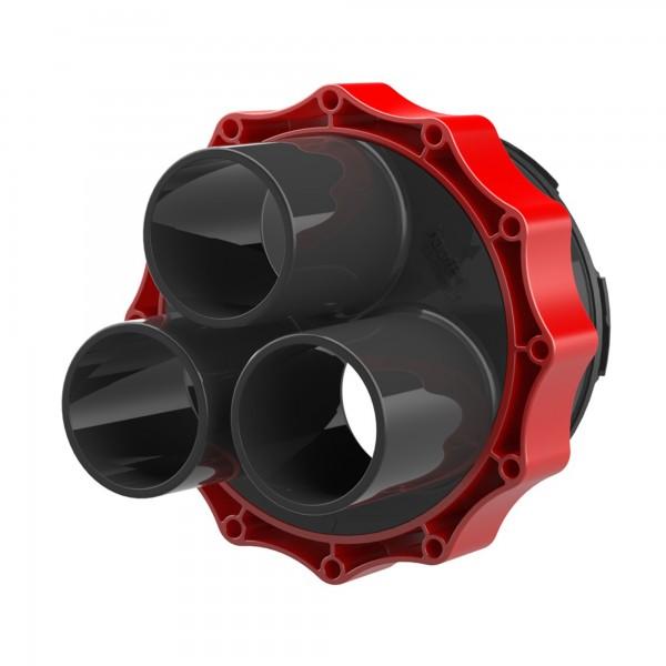 Systemdeckel Kabelabdichtung mit Warmschrumpftechnik HSI 150 D